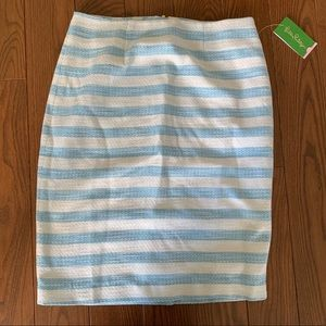 NWT Lilly Pulitzer Hyacinth Skirt